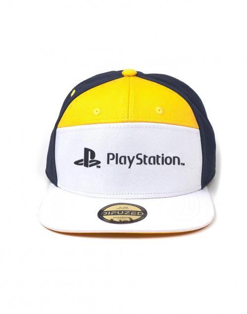 PLAYSTATION - Casquette Snapback - 7 Panels