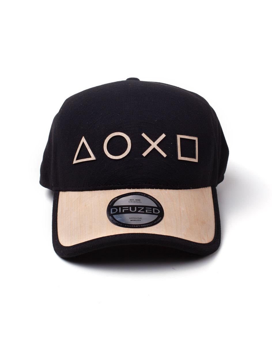PLAYSTATION - Casquette - Seamless Wooden Symbols