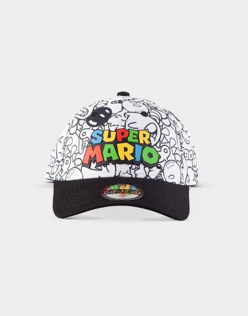 NINTENDO - Super Mario Villains - Casquette