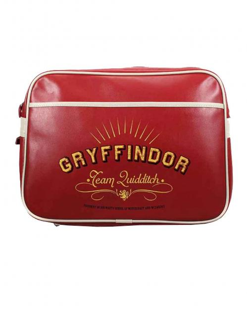 HARRY POTTER - Retro Messenger Bag - Gryffindor Team Quidditch