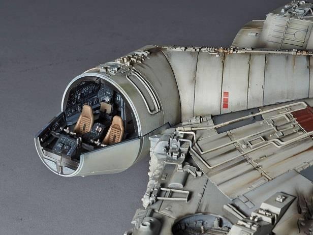 STAR WARS - Model Kit Perfect Grade - Millenium Falcon - 48cm_2