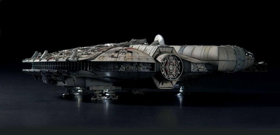 STAR WARS - Model Kit Perfect Grade - Millenium Falcon - 48cm_4