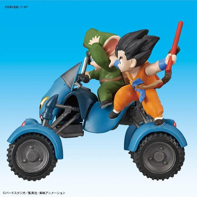 DRAGON BALL - Model Kit - Mecha Collection 06 - Oolong Road Buggy_2