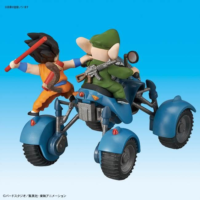 DRAGON BALL - Model Kit - Mecha Collection 06 - Oolong Road Buggy_3
