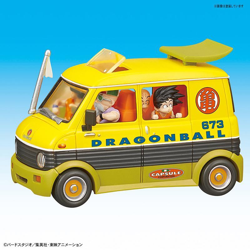 DRAGON BALL - Model Kit - Mecha Collection 07 - Master Roshi Wagon_2