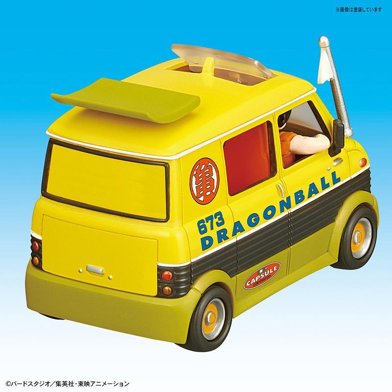 DRAGON BALL - Model Kit - Mecha Collection 07 - Master Roshi Wagon_3