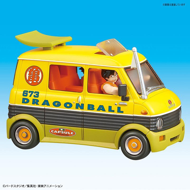 DRAGON BALL - Model Kit - Mecha Collection 07 - Master Roshi Wagon_4