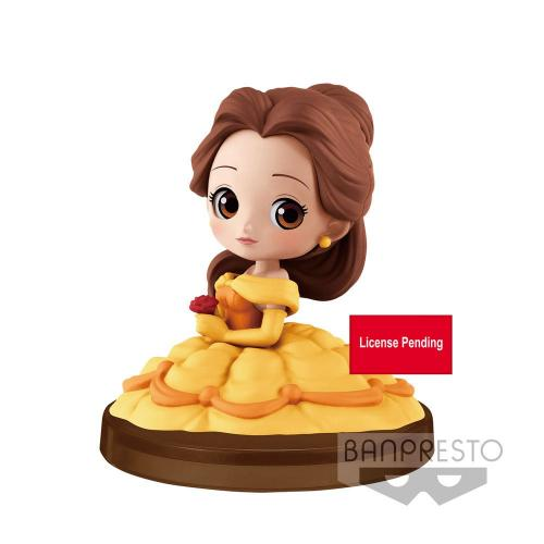 DISNEY - Q Posket Mini - Belle - 7cm