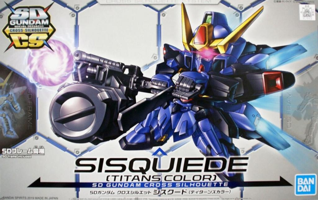 GUNDAM - Model Kit - SD Cross Silhouette Sisquiede 'Titans Color'