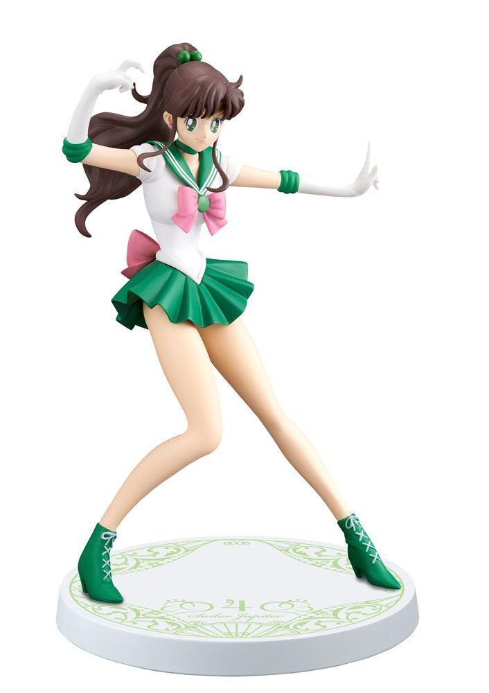SAILOR MOON - Figurine Girls Memories - Sailor Jupiter - 16cm 'REPROD'