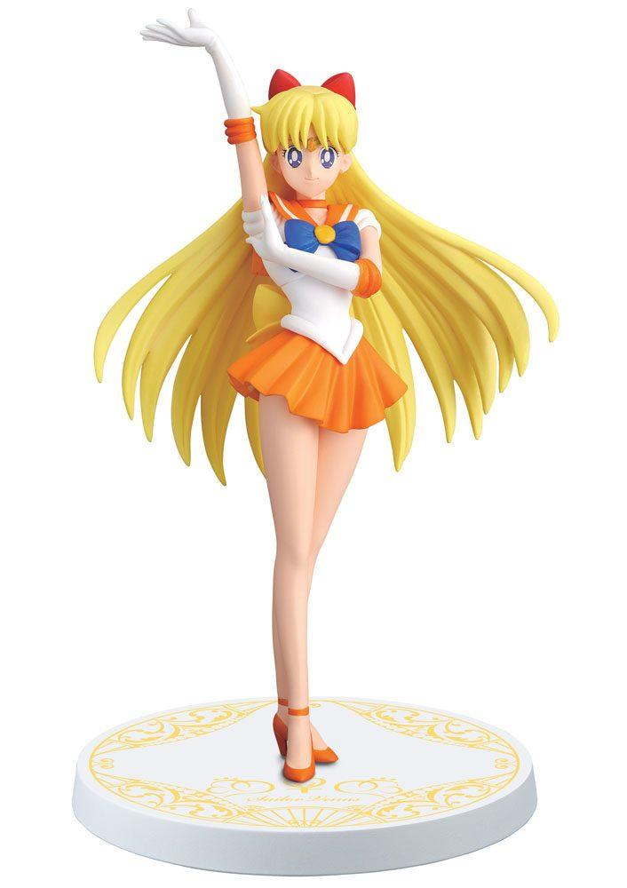 SAILOR MOON - Figurine Girls Memories - Sailor Venus - 16cm 'REPROD'
