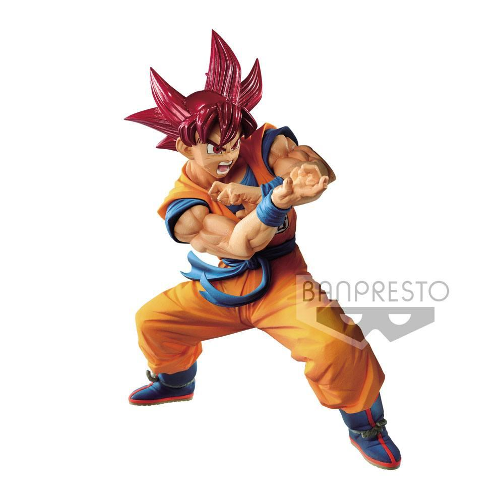 DRAGON BALL GT - Figurine Blood of Saiyans - SSGS Goky SP4 - 17cm