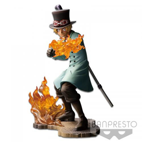ONE PIECE STAMPEDE - Figurine Movie Posing - Vol 1 - Sabo - 15cm