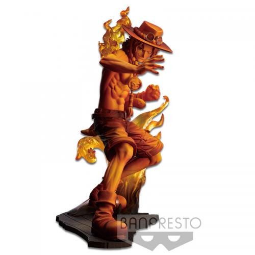 ONE PIECE STAMPEDE - Figurine Movie Posing - Vol 2 - Portgas - 14cm