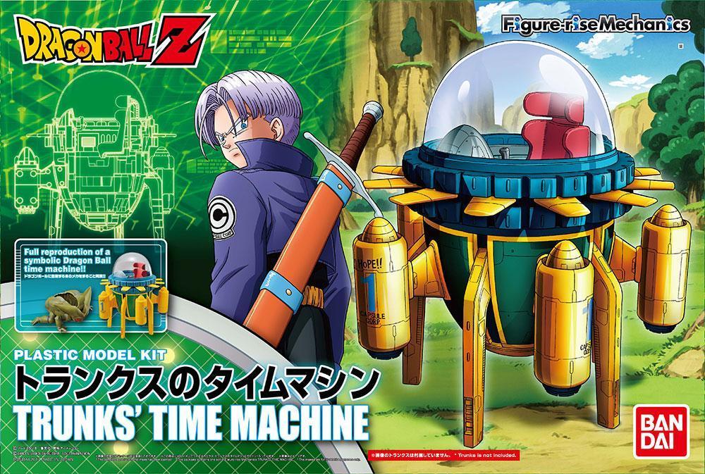 DRAGON BALL - Model Kit - Trunks Time Machine_1