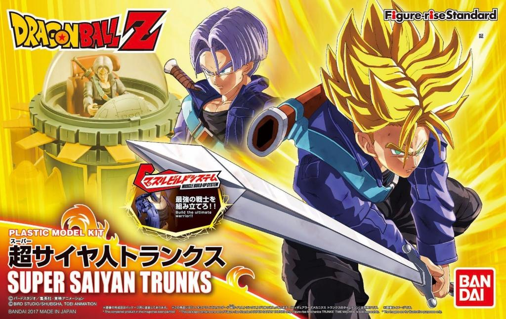 DRAGON BALL - Model Kit - Super Sayan Trunks