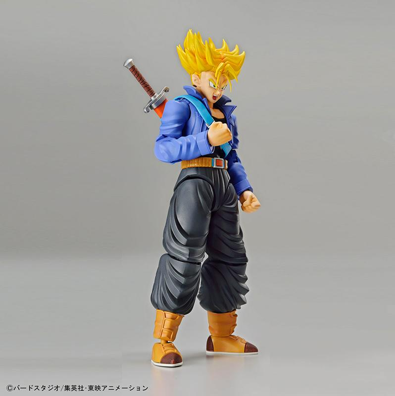 DRAGON BALL - Model Kit - Super Sayan Trunks_4