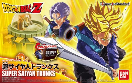 DRAGON BALL - Model Kit - Super Sayan Trunks
