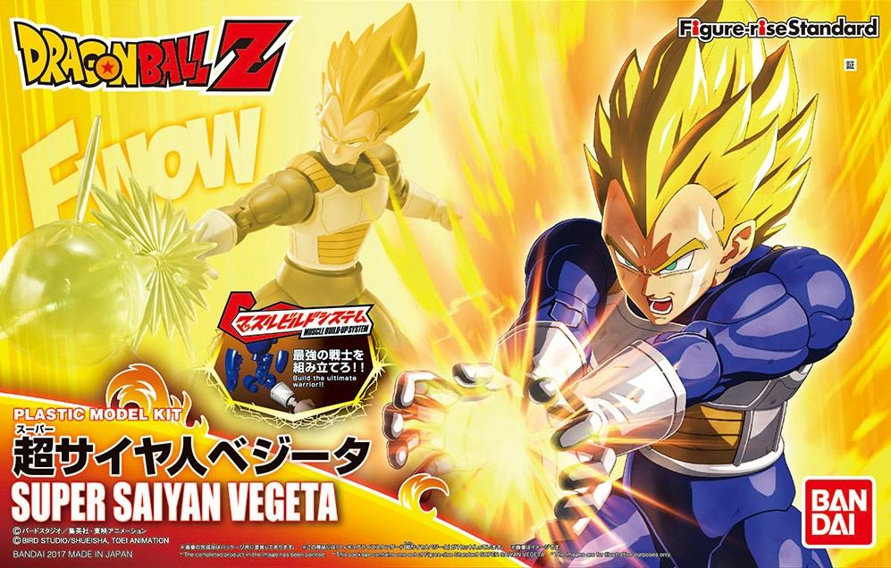 DRAGON BALL - Model Kit - Super Sayan Vegeta_1