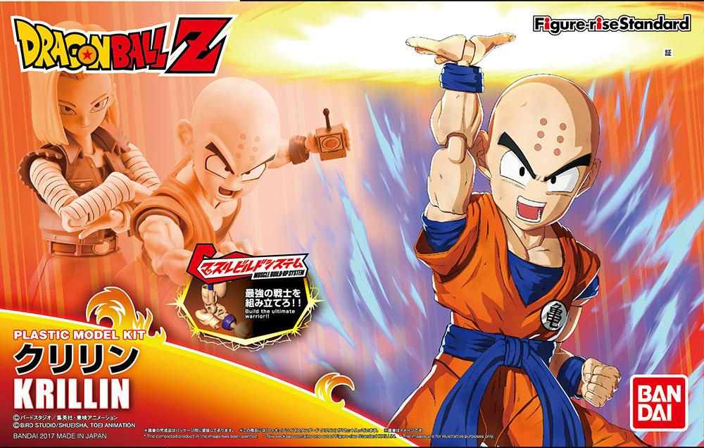 DRAGON BALL - Model Kit - Krillin_1