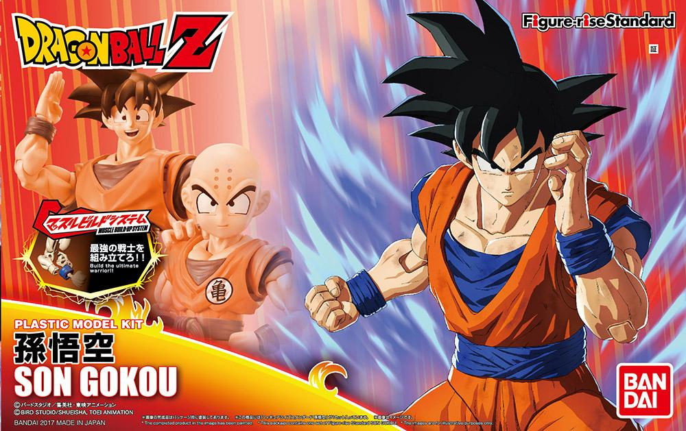DRAGON BALL - Model Kit - Son Goku