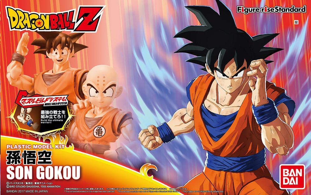 DRAGON BALL - Model Kit - Son Goku_1