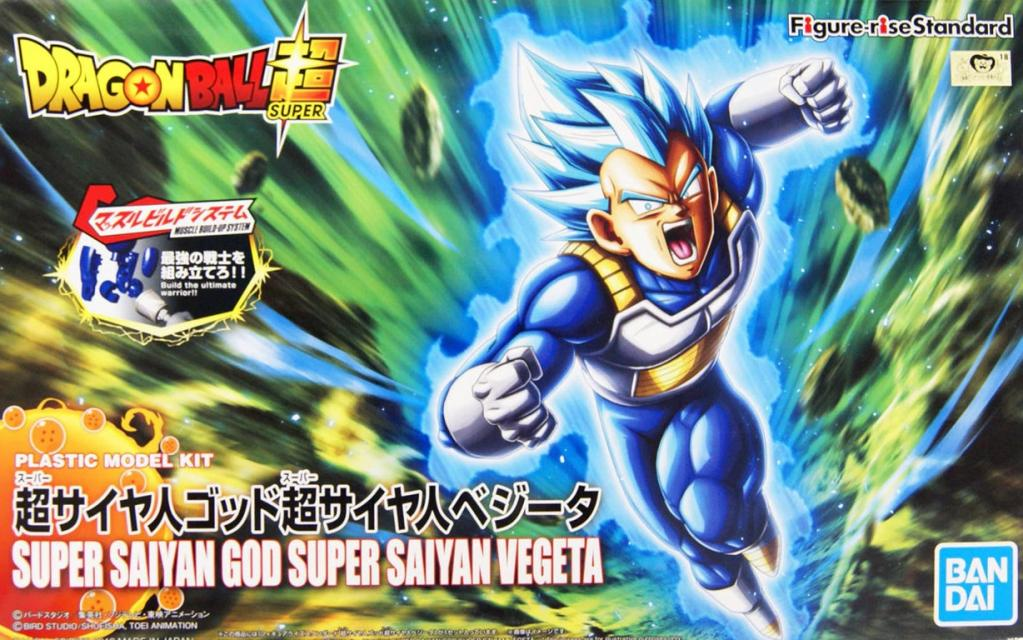 DRAGON BALL - Model Kit - Super Sayan GOD Vegeta