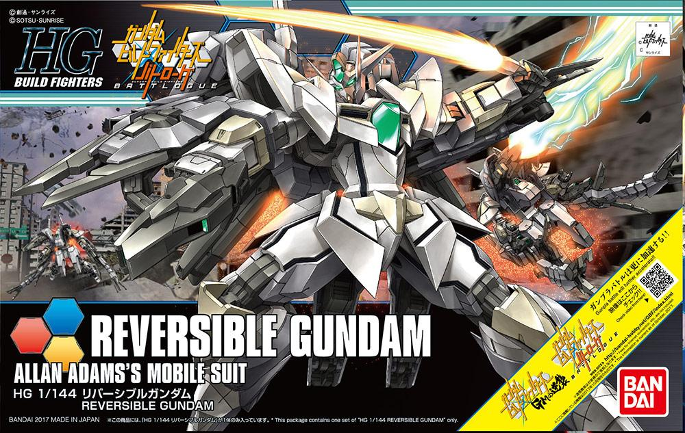 GUNDAM Build Fighters - Model Kit - HG 1/144 - Reversible Gundam
