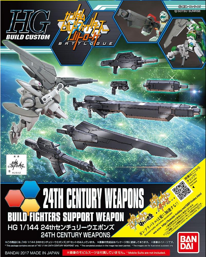 GUNDAM Build Fighters - Model Kit - HG 1/144 - ACC Century Weapons
