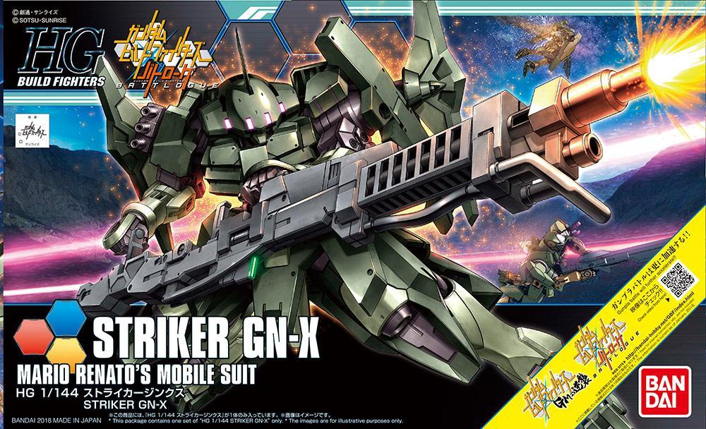 GUNDAM Build Fighters - Model Kit - HG 1/144 - Striker GN-X