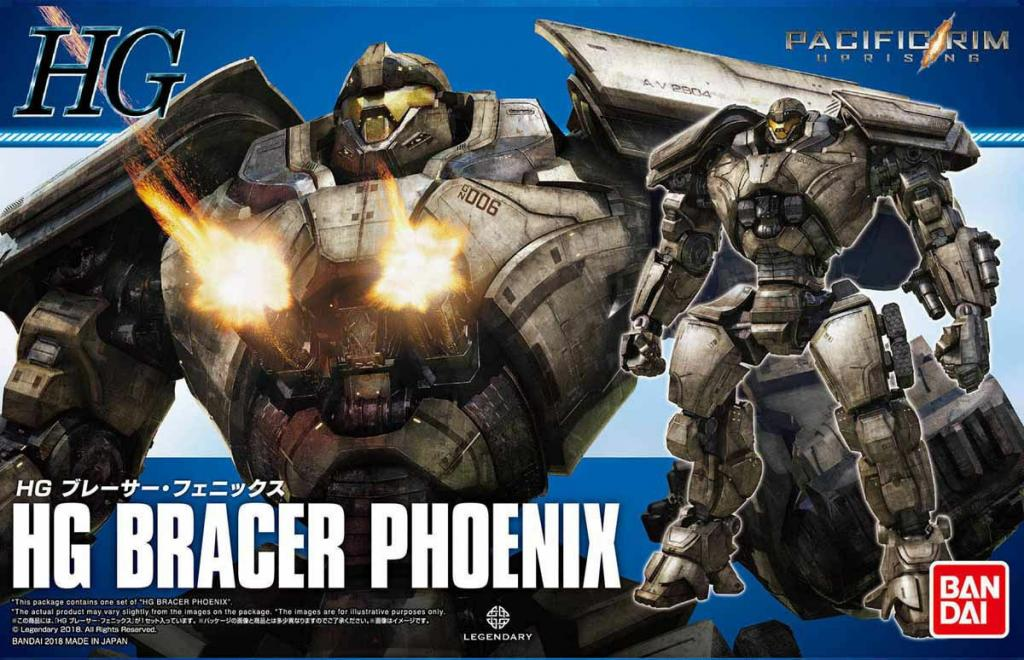 PACIFIC RIM UPRISING - Model Kit HG - Bracer Phoenix