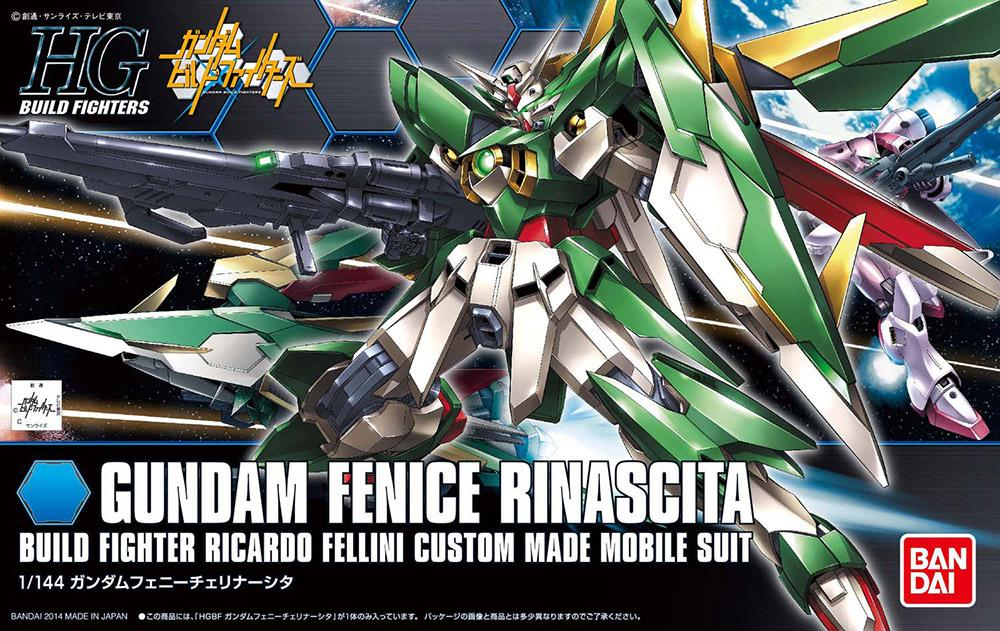 GUNDAM Build Fighters - Model Kit - HG 1/144 - Gundam Fenice Rinascita