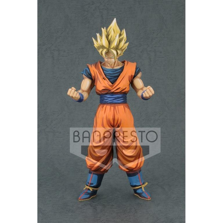 DRAGON BALL Z - Grandista - S.S. Son Goku Manga Dimension - 28cm