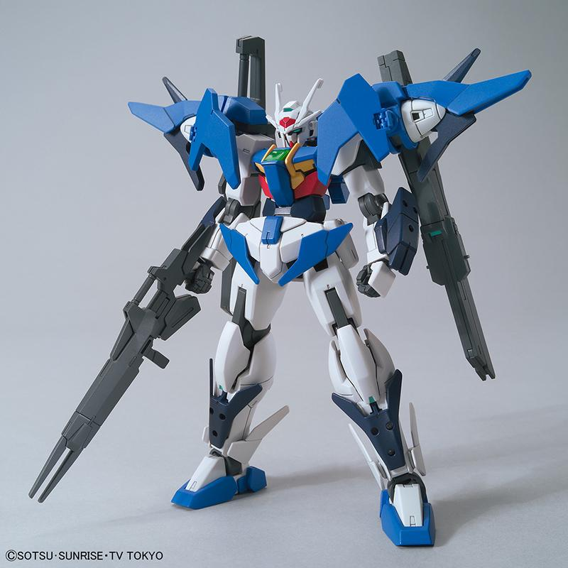 GUNDAM - Model Kit - HG 1/144 - Gundam 00 Sky Riku's Mobile Suit