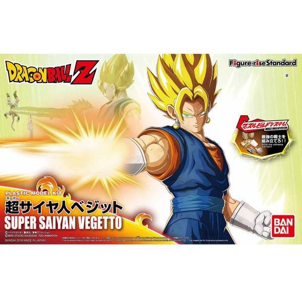 DRAGON BALL - Model Kit - Super Saiyan Vegetto_1
