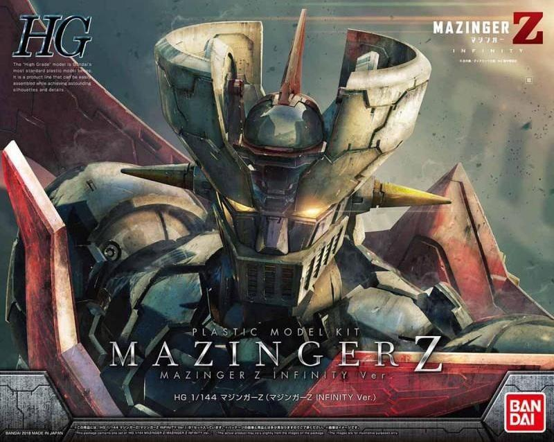 MAZINGER Z - Model Kit - HG 1/144 - Mazinger Z Infitity Version