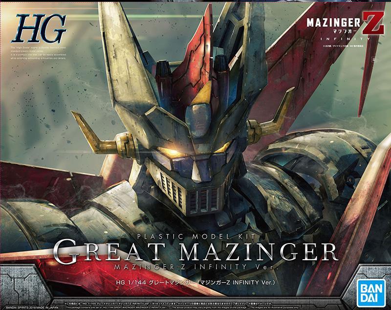 MAZINGER - Model Kit - HG 1/144 Great Mazinger Infinity Vers.
