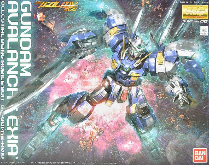 GUNDAM - Model Kit - MG 1/100 - Gundam Avalanche Exia - 18 CM