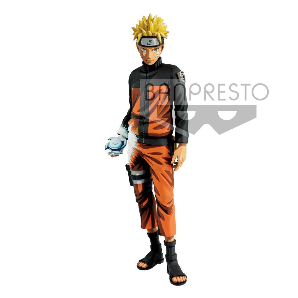 NARUTO SHIPPUDEM - Figurine Grandista - Uzumaki Naruto - 27cm Manga V.