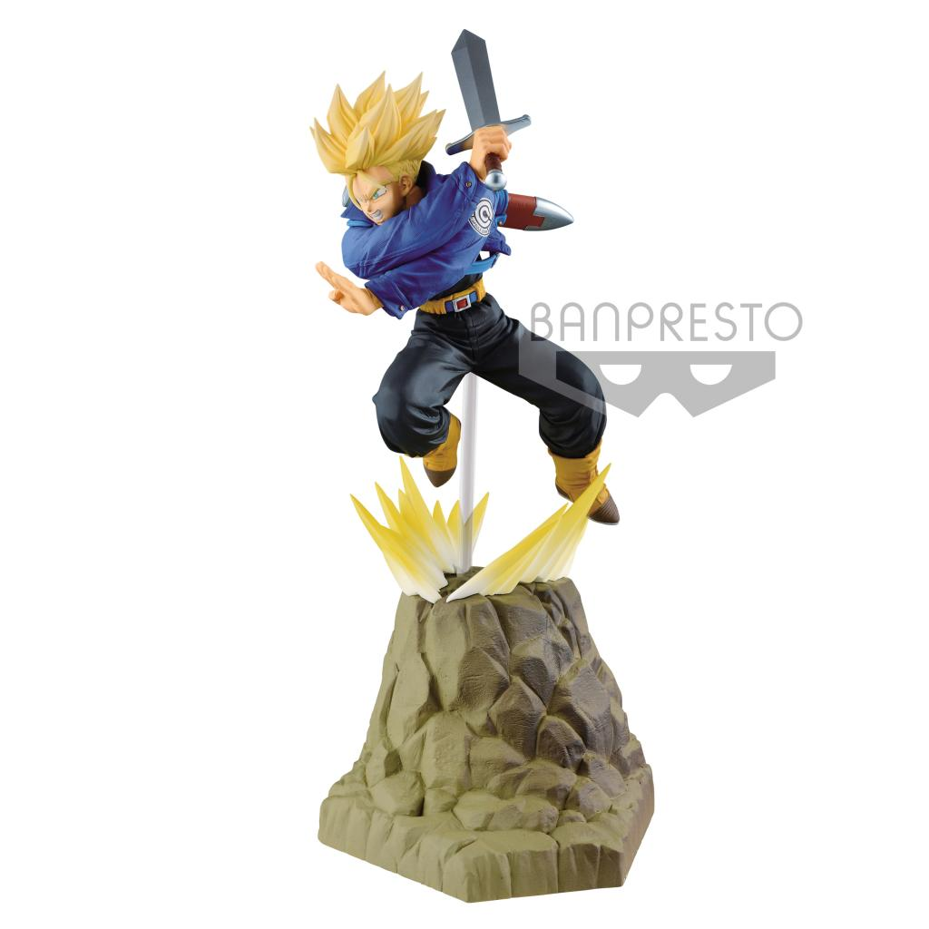 DRAGON BALL Z - Figurine Absolute Perfection 3/3 - Trunks - 15cm