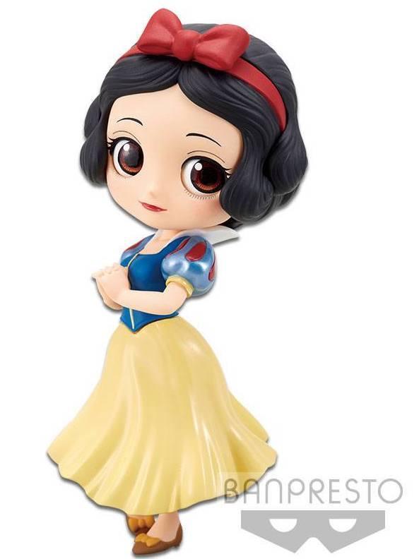 DISNEY - Q Posket Snow White Normal Color Version - 14cm