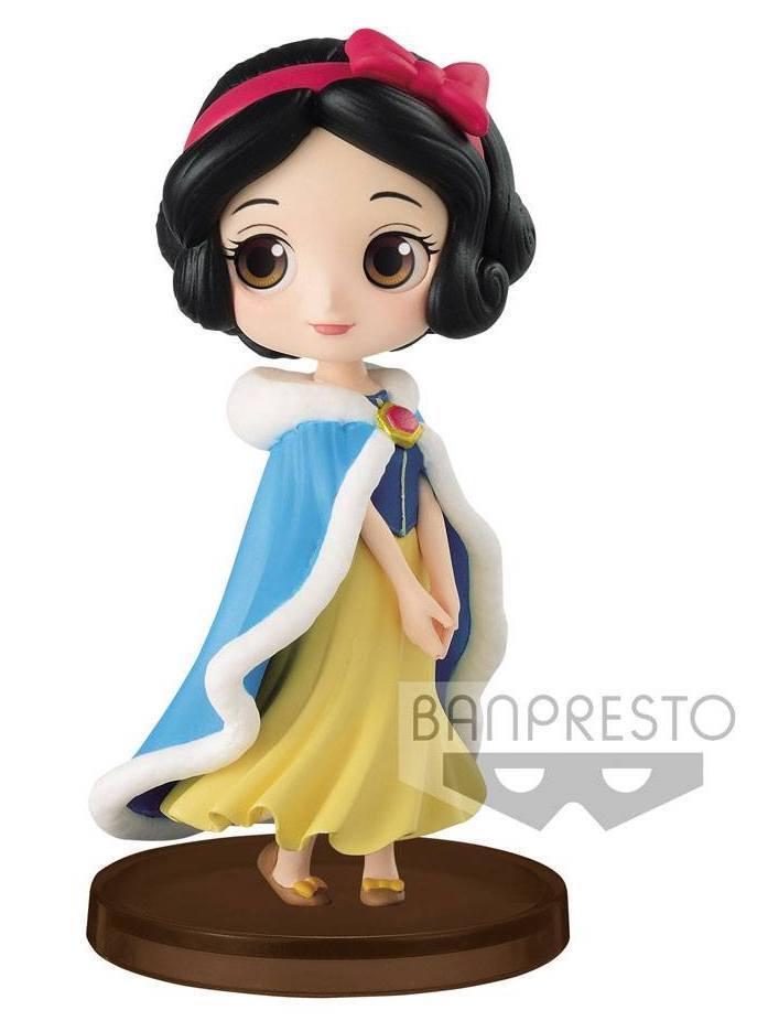 DISNEY - Q posket Mini Girls Festival - Snow White Winter Costume -7cm