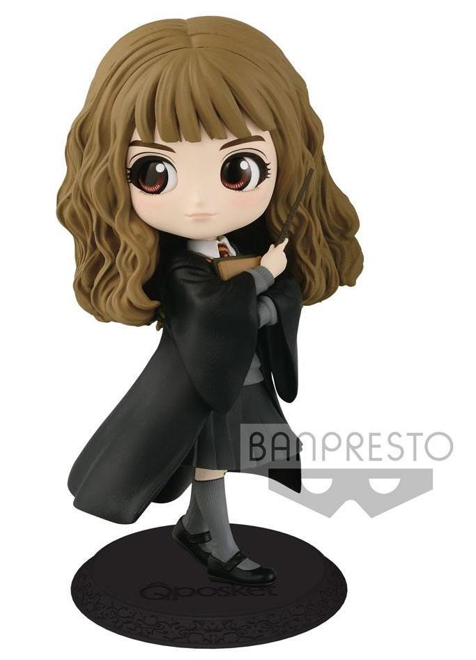HARRY POTTER - Q Posket Hermione Normal Color Version - 14cm