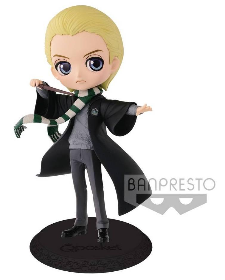 HARRY POTTER - Q Posket Draco Normal Color Version - 14cm