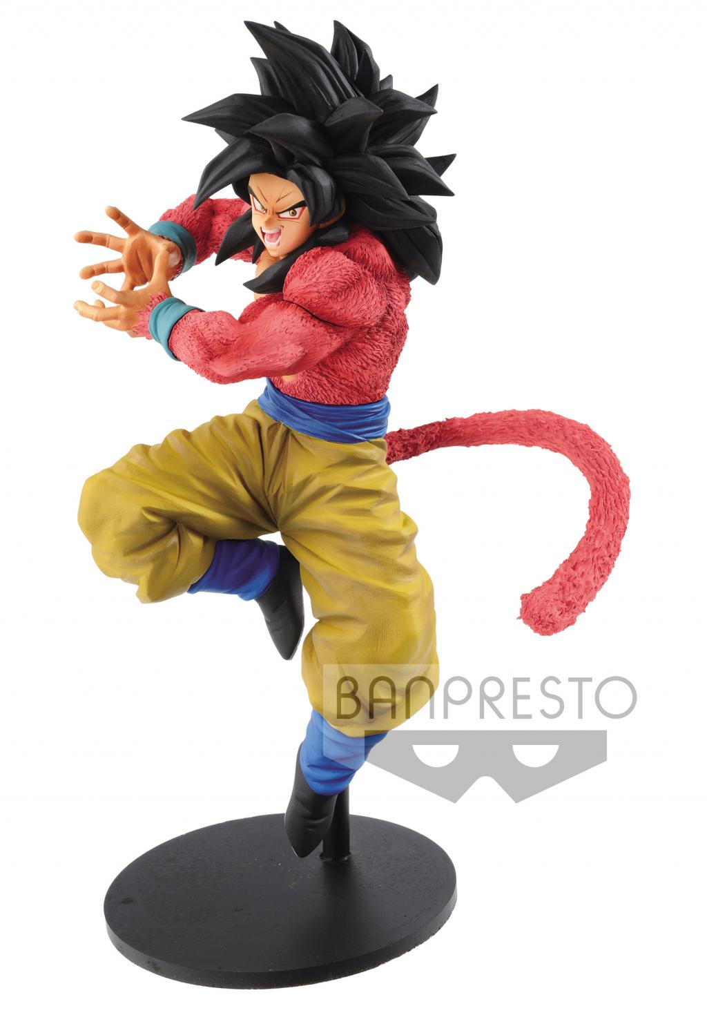 DRAGON BALL GT - Super Saiyan 4 Goku Kamehameha Version - 19cm