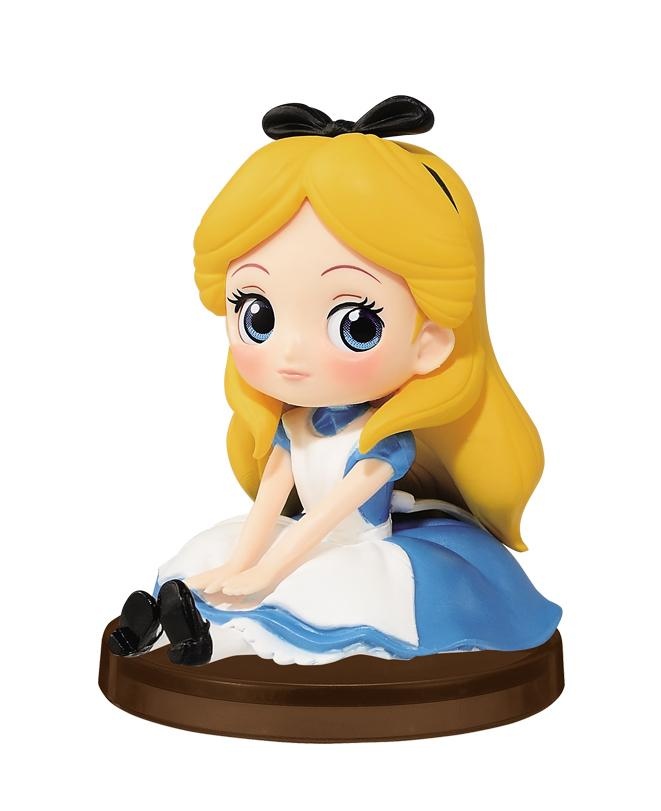 DISNEY - Q posket Mini Girls Festival - Alice - 7cm