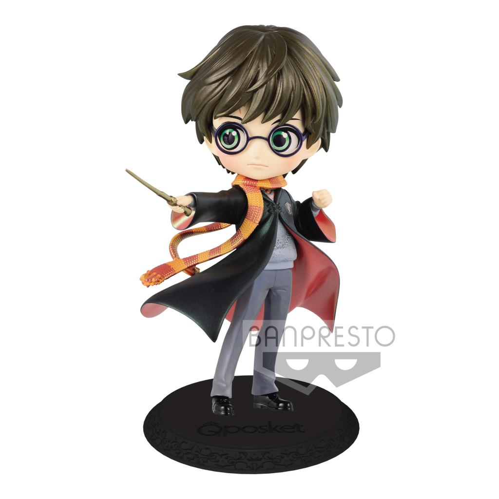 HARRY POTTER - Q Posket Harry Potter Pearl Color Version - 14cm
