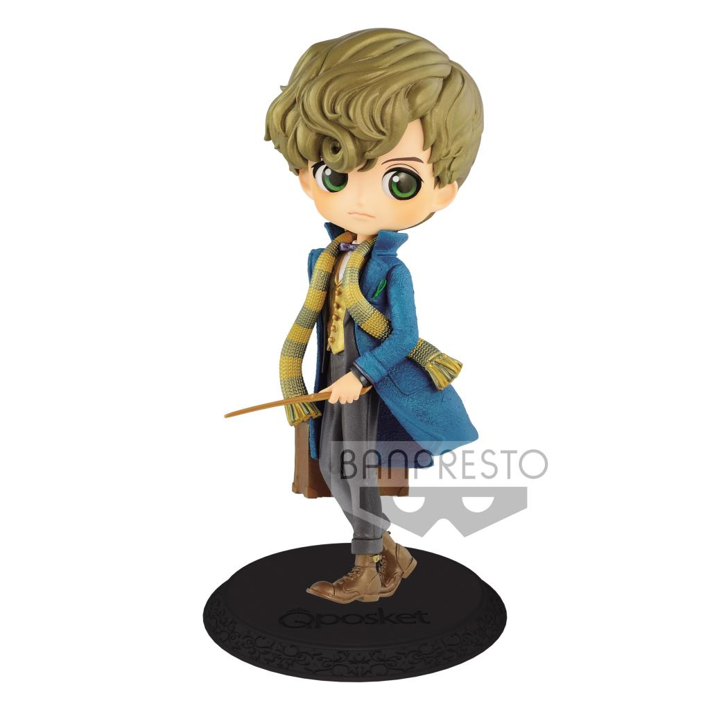 FANTASTIC BEASTS - Q Posket Newt Scamander Pearl Color Version - 14cm
