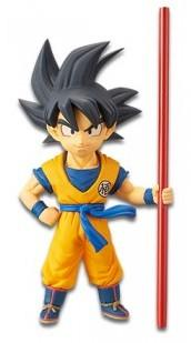 DRAGON BALL SUPER BROLY - Figurine WCF Vol 1 - Goku - 7cm