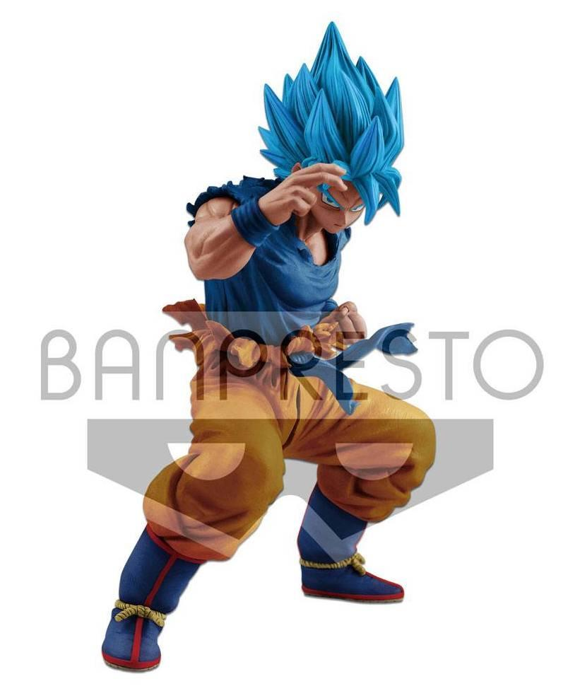 DRAGON BALL SUPER MASTERLISE - SSGSS Son Goku - 20cm